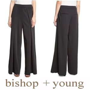 Bishop + Young Double-Layer High-Waist Pants S NWT